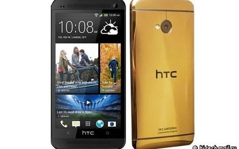 gold htc one techweez