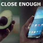 New Galaxy Round ad compares the curved smartphone to curved things in the real world