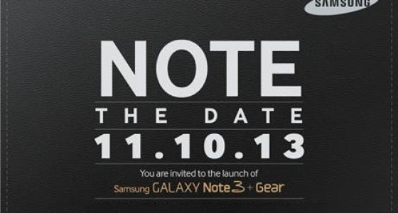 galaxy note 3 invite