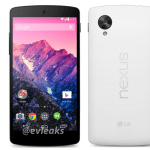 white LG Nexus 5