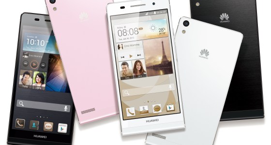 The Huawei Ascend P6