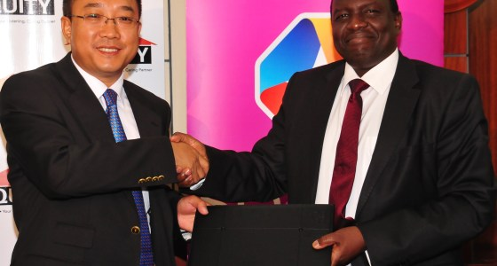 Equity Bank Chief Operating Officer Julius Kipng'etich