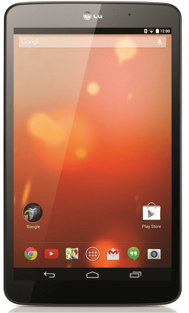 LG G Pad Google Play edition