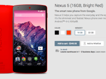 Bright Red Nexus 5