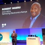 Samsung East Africa CCO Robert Ngeru is now Samsung's  First African Vice President