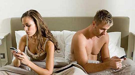 addicted to smartphone