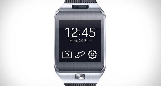Gear 2. Samsung's current smartwatch lineup runs on the company's backed Tizen OS with the Galaxy Gear, its only Android-powered smartwatch being updated to Tizen a few weeks ago.