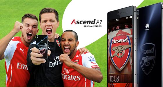 Arsenal Huawei Ascend P7