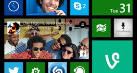 Update 1 Windows Phone - Live Folders