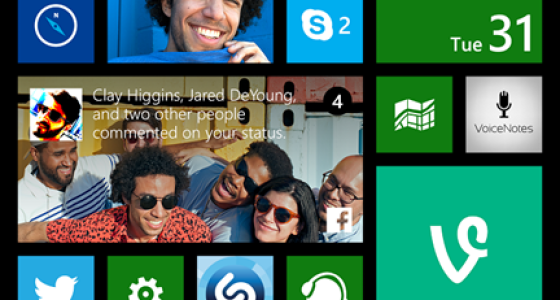 Update 1 Windows Phone - Live Folders