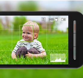 Rule of Thirds Feature on Smartphone Camera App