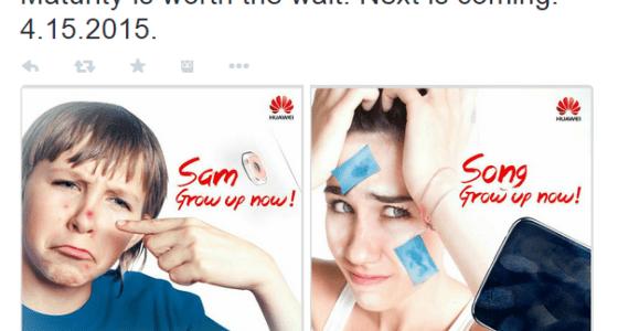 Huawei troll Samsung