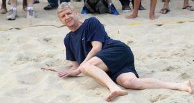 Arsenal Wenger Beach Soccer