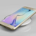 Galaxy S6 Edge Qi charging