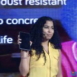 BRCK's President , Education Division and CEO E-Limu , Nivi Mukhrejee with the Kio tablet