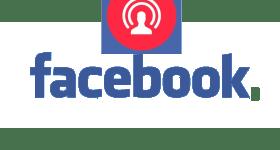 Facebook live button