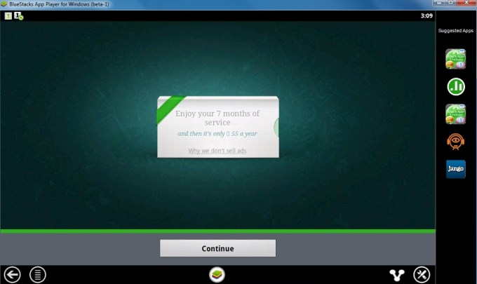 Configuring Whatsapp 6