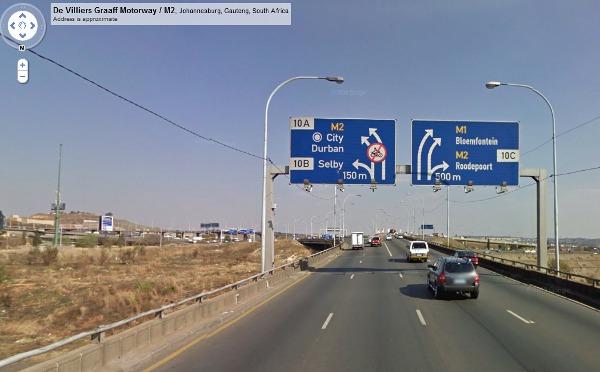 Google J'burg road