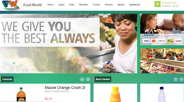 Food World Online Store