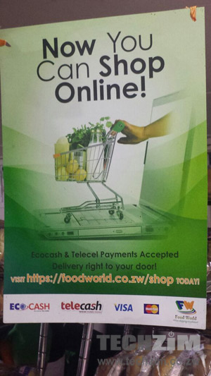 Food World online store