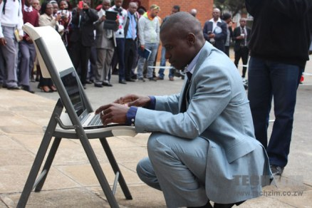Zimbabwean inventor showcases his own drone electric car and green