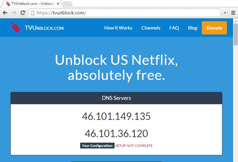 Netflix workaround, IPTV