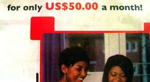 Unlimited Broadband Advert