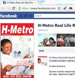 HMetro Facebook