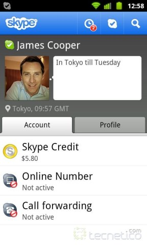 Skype-Android-screen