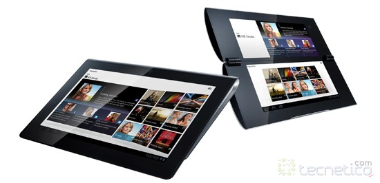Sony Tablet S junto a la Tablet P / Foto: Sony