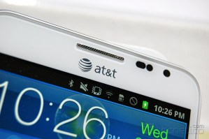 Samsung Galaxy Note para AT&amp;T en color blanco / Foto: Roberto Flores / Tecnetico.com