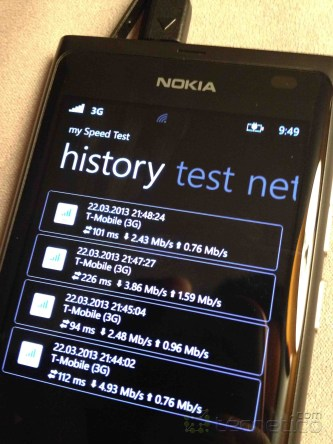 Nokia Lumia Speedtest 6