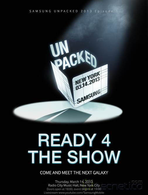 Samsung Unpacked-Ready 4 the show