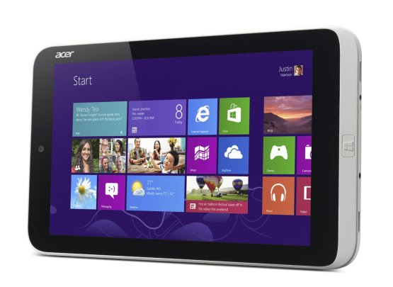 Acer Iconia W3 con Windows 8