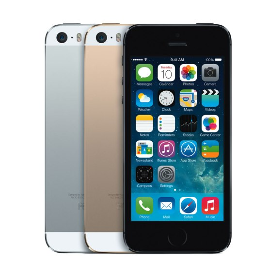 iPhone5s - 3Color - iOS7