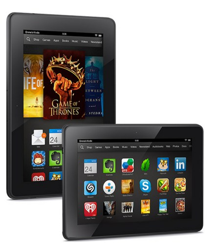 Kindle Fire HDX de Amazon