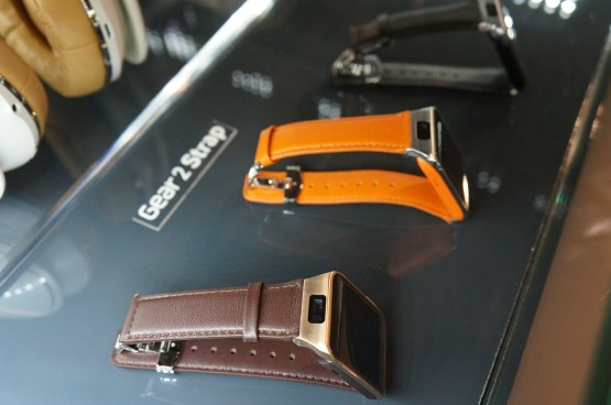 Correas intercambiables para el Gear 2 de Samsung
