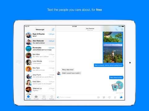 Facebook-Messenger-7.0-iPad