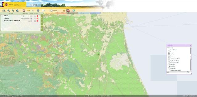 Sistema de Informacion Geografica de Datos Agrarios SIGA