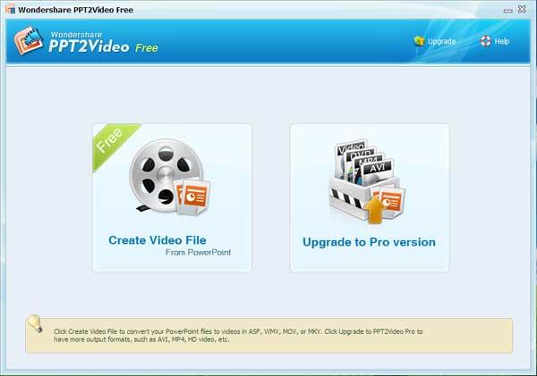 Como converter PowerPoint para vídeo