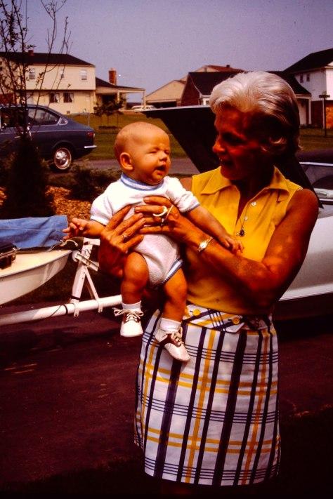 1974: me, Joan