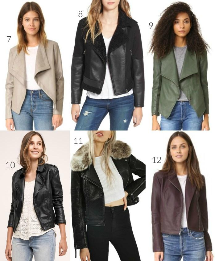 vegan leather jackets 2016