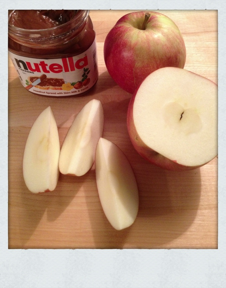 Nutella and Apples » Ted Kennedy Watson