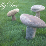 How To Make Rock Mushrooms For Yard/Garden Decorations