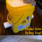 Make spooky, low lying Halloween fog with an easy DIY professional fog chiller!