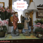 Bunny's, chicks & eggs…Easter décor!
