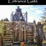 Build a SCARY Haunted Entrance Gate for Halloween