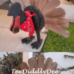 DIY Rustic Wooden Turkey for Fall & Thanksgiving Decor