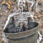 DIY Bone Chilling Skeleton Fountain