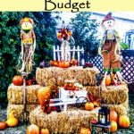 Fabulous Outdoor Fall Décor on a Budget